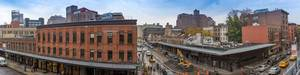 Panorama View of Washington St. / Gansevoort St. New York