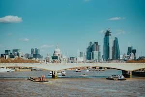 Panoramabild von London, Vereintes Königreich