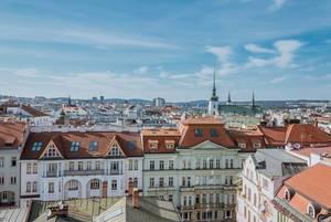 Panoramablick über Brünn, Tschechien