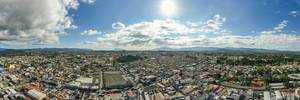 Panoramic View of Guatemala City