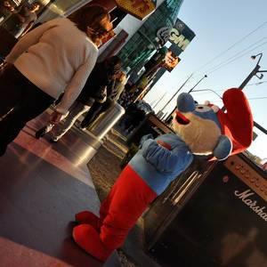 Papa Smurf in Las Vegas (Papaschlumpf)