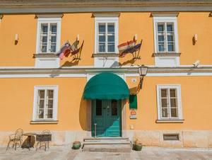Park Hotel in Pettau, Slowenien