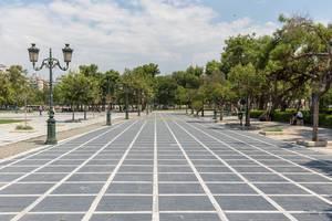 Park neben dem Bey Hamam in Thessaloniki
