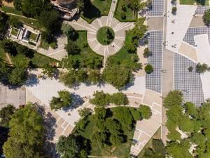Park um Bey Hamam in Thessaloniki