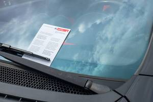 Parking Ticket in Cologne, Germany