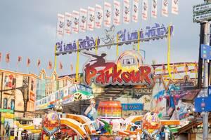 Parkour ride - Oktoberfest 2017