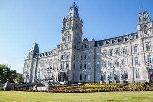 Parliament in Quebec City Canada