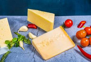 parmezan Cheese On background (Flip 2019)