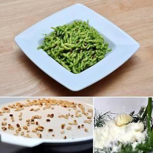 Pasta with self-made Pesto. #yummy #pasta #instafood #hellofresh #hellofreshpics #hellofreshgewinnspiel #pesto