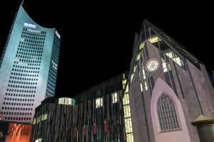 Paulinum University of Leipzig and high-rise