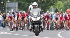 Peloton bei der Tour de France 2017