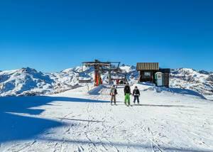 People at ski resort  Flip 2019