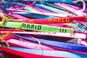 Personalisierte, handgefertigte Armbänder