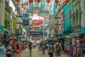 Petailing Street Market in Kuala Lumpur