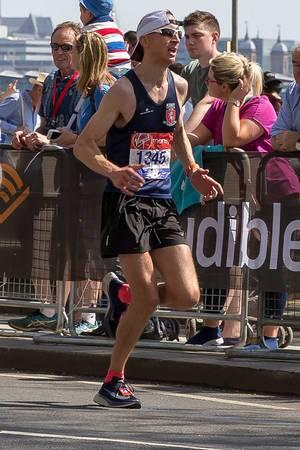 Peter Lighting - London Marathon 2018
