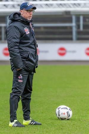 Peter Stöger im Training
