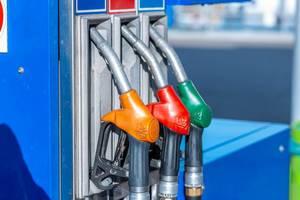 Petrol filling device