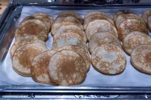 Pfannkuchen zum Nachtisch