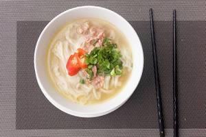 Pho Bo: Vietnamesische Nudelsuppe