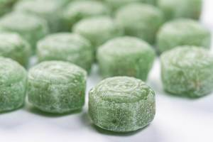 Pile of Green Menthol Candies (Flip 2019)