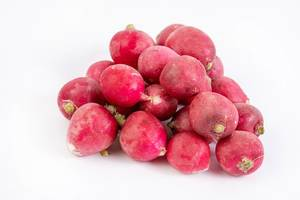 Pile of Healthy Fresh Red Radishes