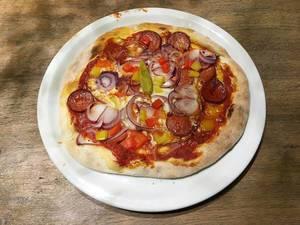 Pizza Diavolo im Vapiano