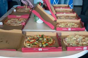 Pizza-Party-Schlacht