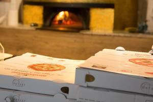 Pizzakartons im Eataly München