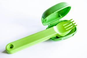 Plastikbesteck zum Mitnehmen