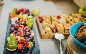 Plate of Fresh Fruits
