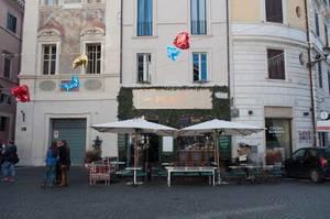Platz Grand Bistrot in Rom, Italien