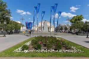 Platz vor dem Bolschoi-Theater