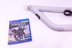 Playstation 4 Spiel: Firewall - Zero Hour und Aim Controller Für Virtual Reality VR
