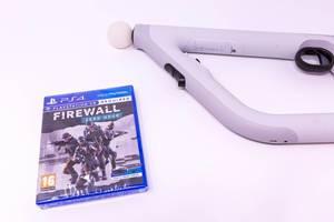 Playstation 4 Spiel: Firewall - Zero Hour und Aim Controller Für Virtual Reality VR