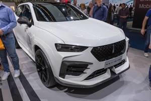 Plug-in-Hybrid SUV G-Pro von Wey