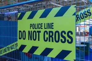 Police Line / Absperrband der Polizei - Gamescom 2018