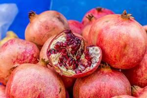 Pomegranate on marketplace