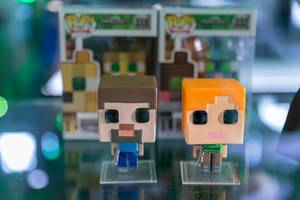 Pop! Minecraft figures at Gamescom
