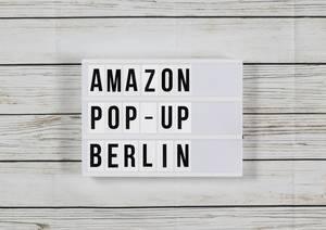 Pop-up für Weihnachtsgeschäft:Amazon eröffnet Laden am Kurfürstendamm in Berlin
