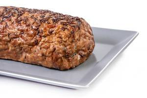 Pork and Chicken Meat Loaf on the plate (Flip 2019)