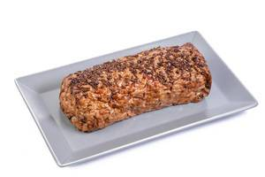 Pork and Chicken Meat Loaf with Cumin