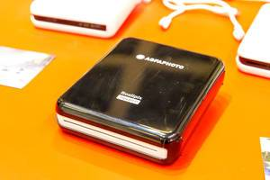 "Portable AGFA Photo printer ""Realipix Square P"" with bluetooth connection for apple and android"
