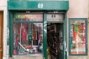 Portugal-Fanshop: Fußball, Schal, Trikot, Benfica Lissabon