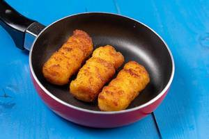 Potato Croquettes in the Frying Pan