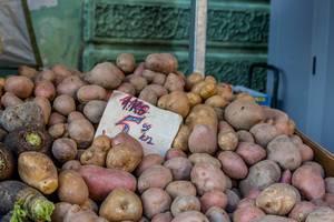 Potato on marketplace