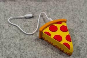 Powerbank in Form einer Pizza von Mojipower