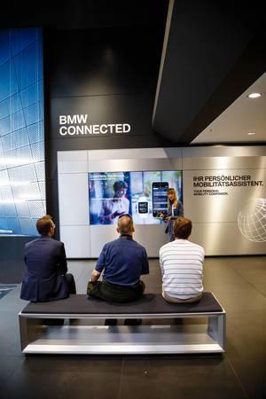 Präsentation der neuen App BMW Connected