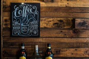Premium Coffee Poster Frame in Mayok