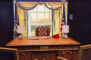 Presidential office at the Tom Clancy
