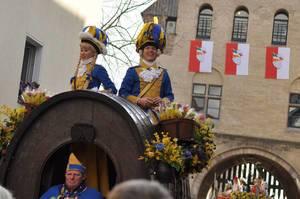 Prinz am Rosenmontagszug 2012